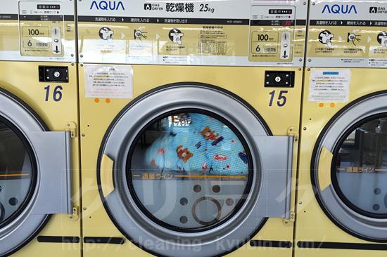 乾燥機で布団を乾燥
