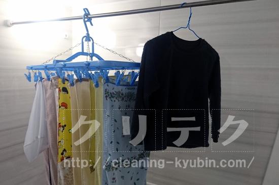 乾燥洗濯物