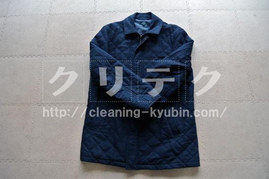 ウールの男性コート